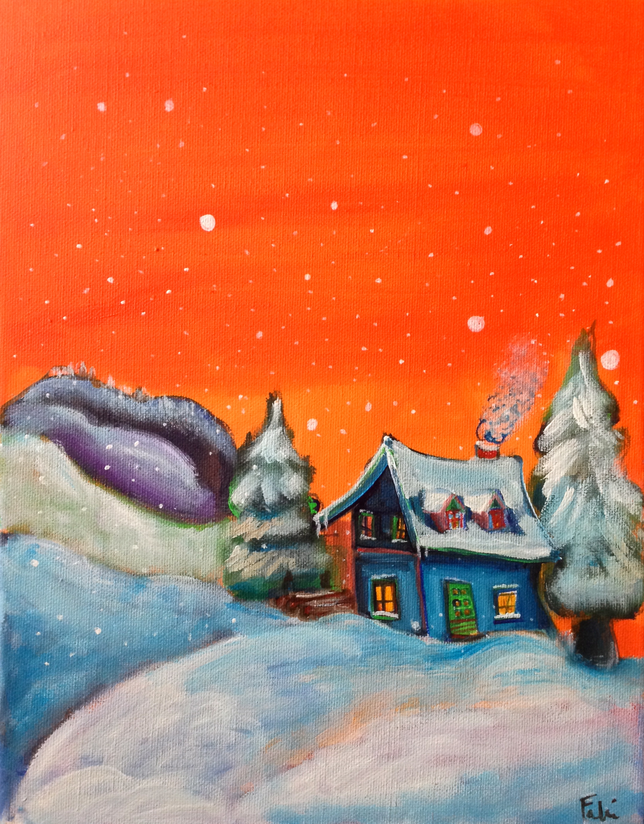 Snowy House SOLD