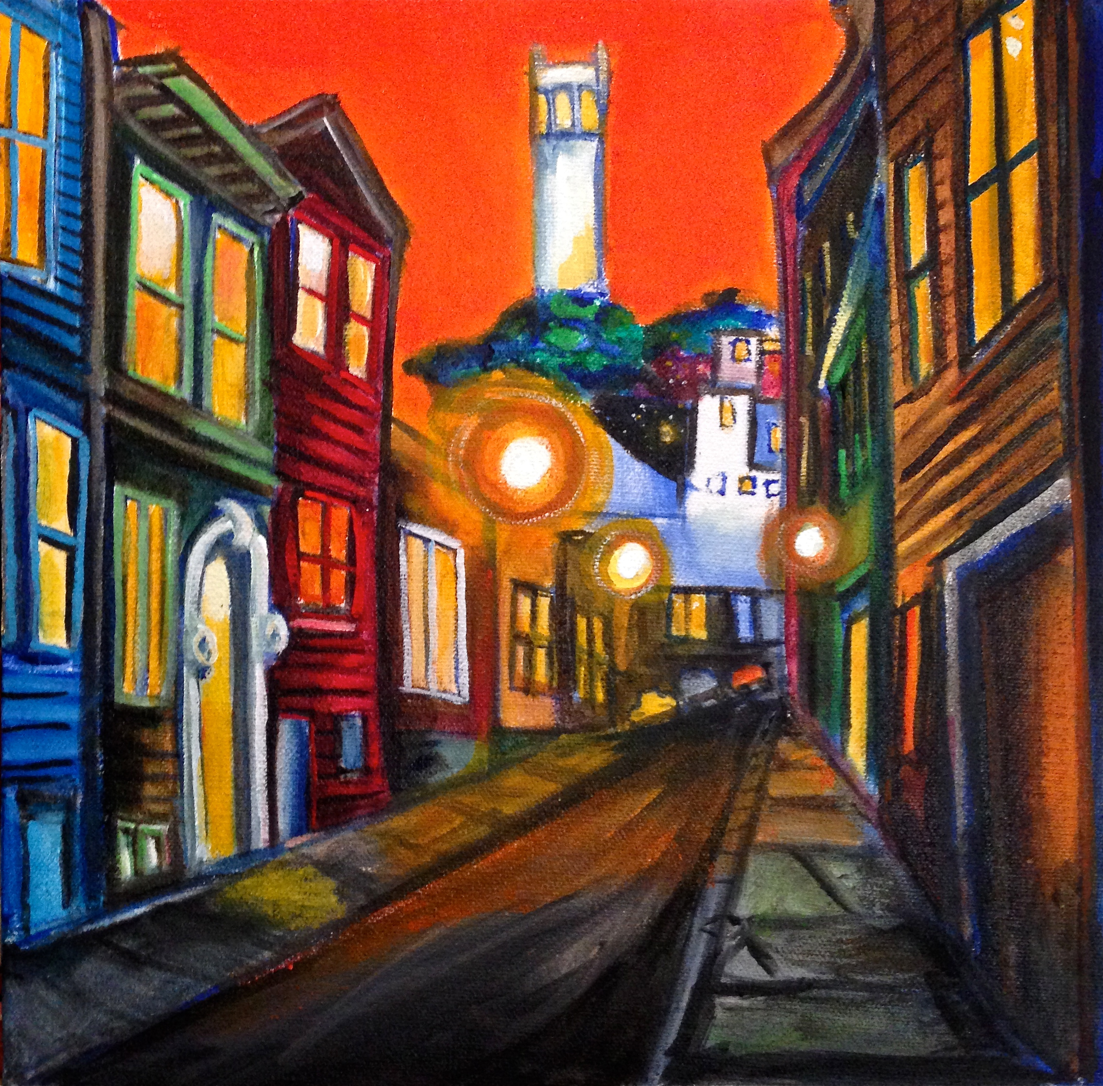 Coit Tower 12 x 12 $375