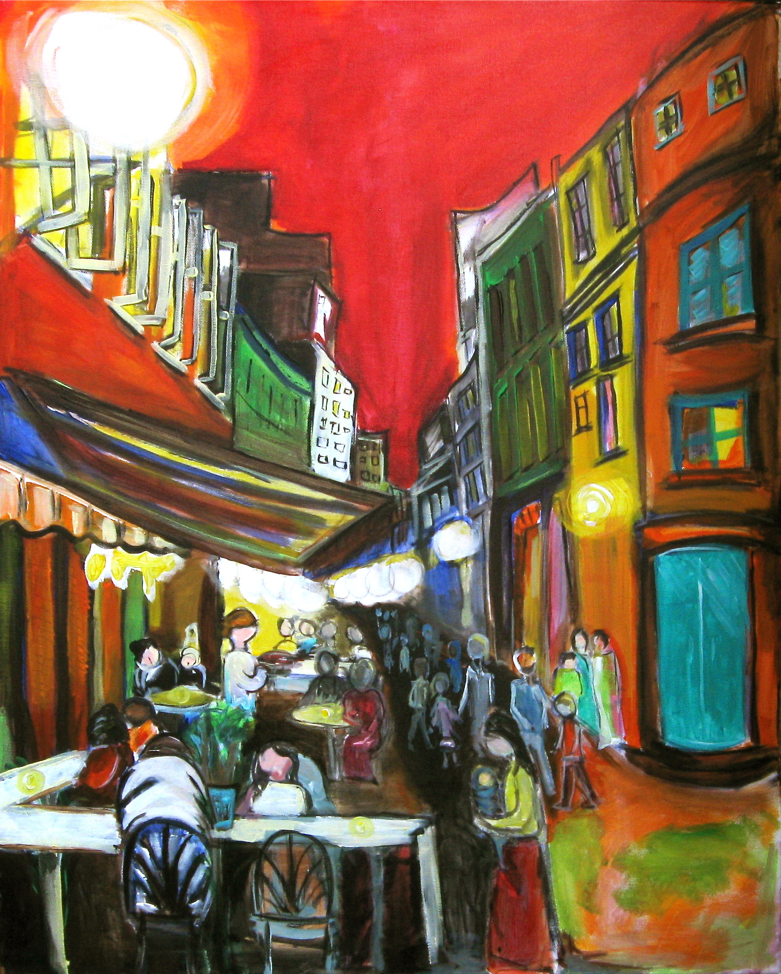 Old Montreal 24x30 SOLD
