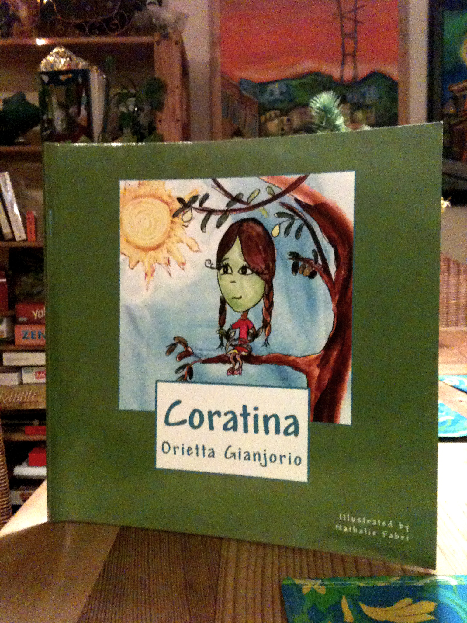 Coratina book available on amazon