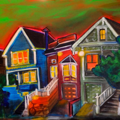 Strong Houses 18x24 $600