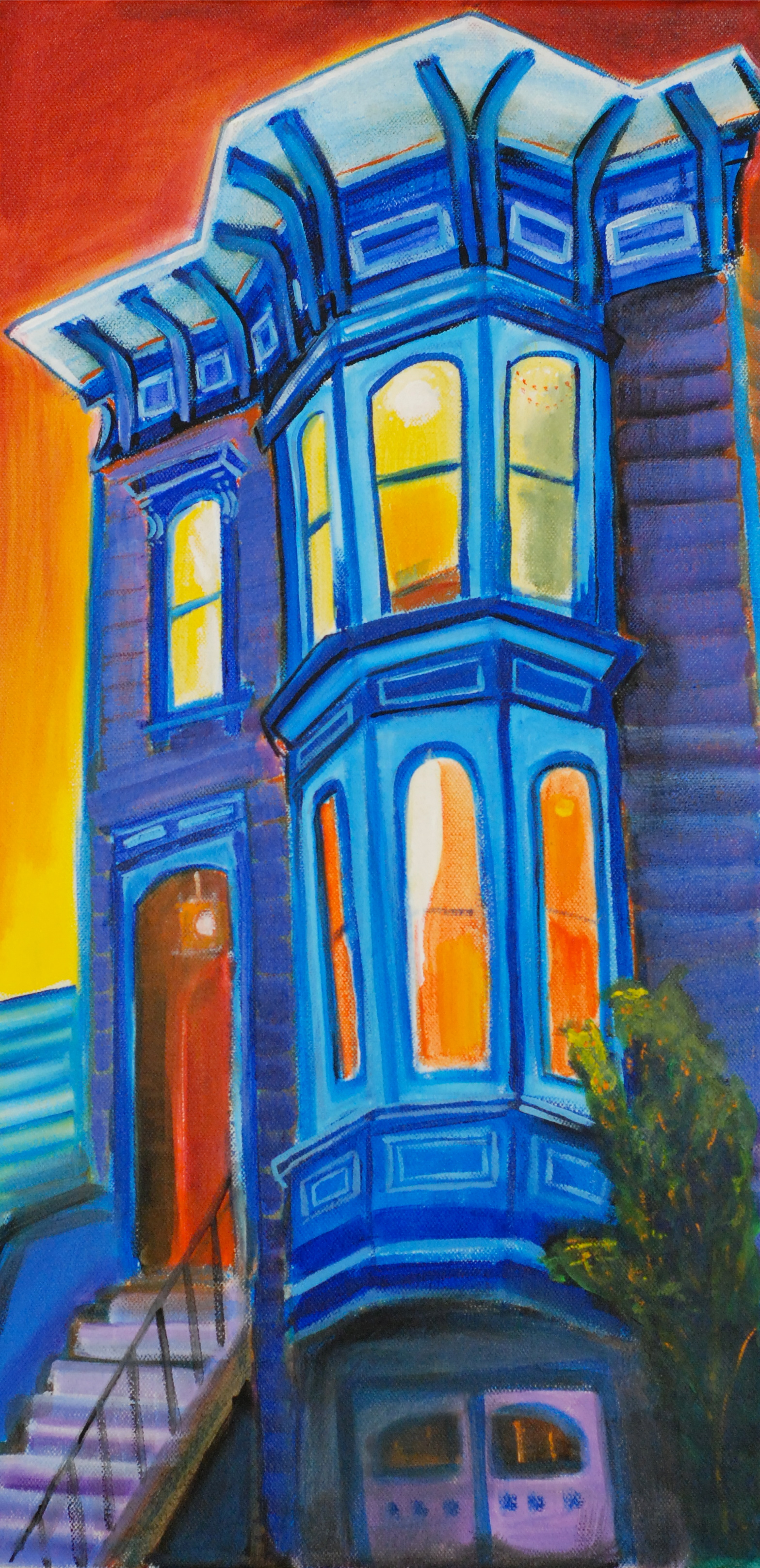 Italianate Blue
