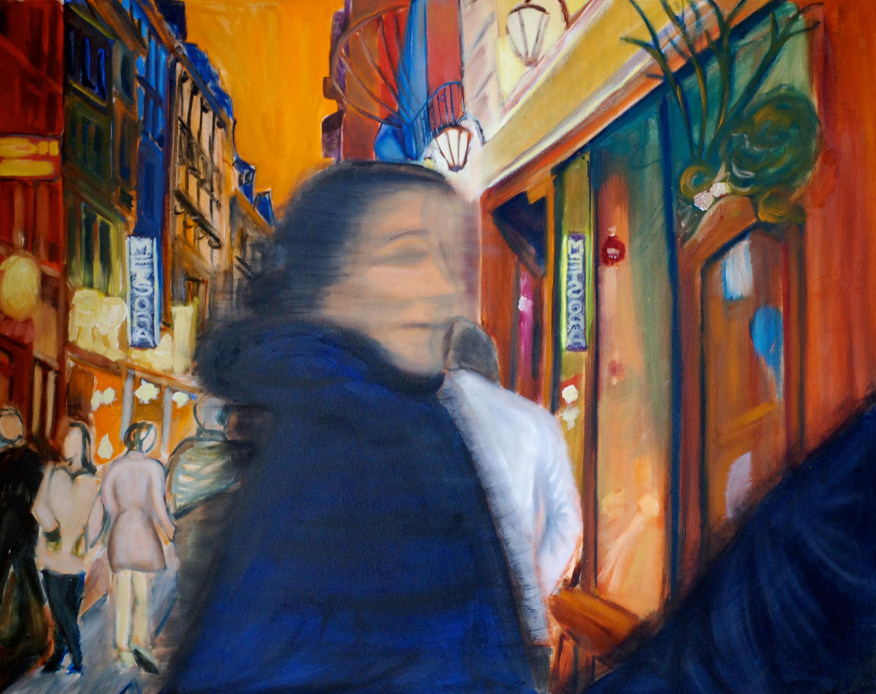 Delma in Paris 36x24