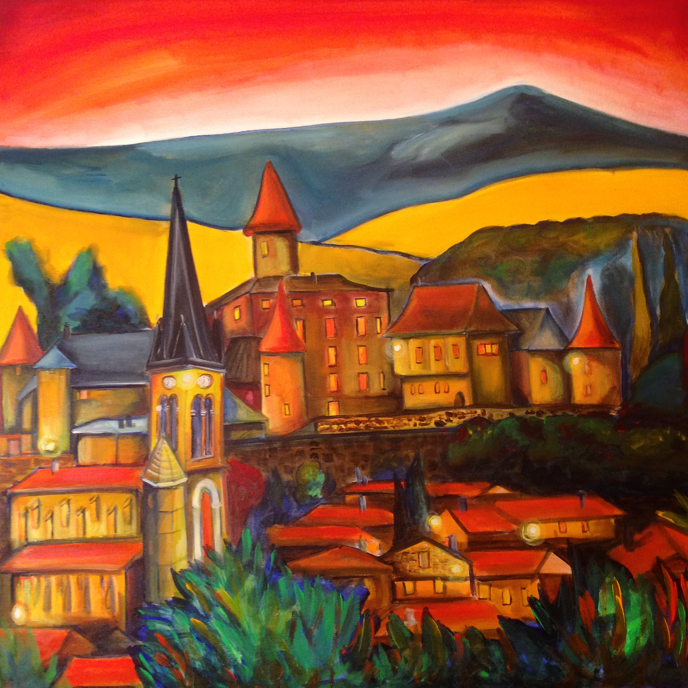 Village au Beaujolais