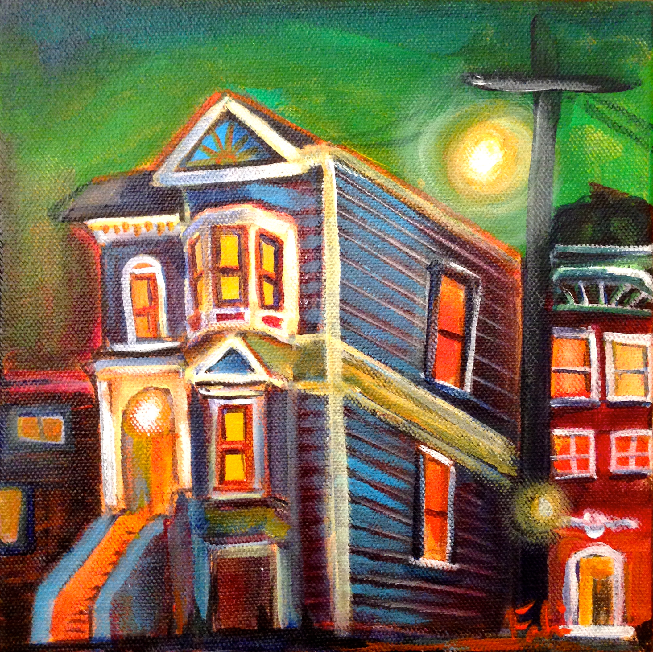 Church and 18th 8x8 $250