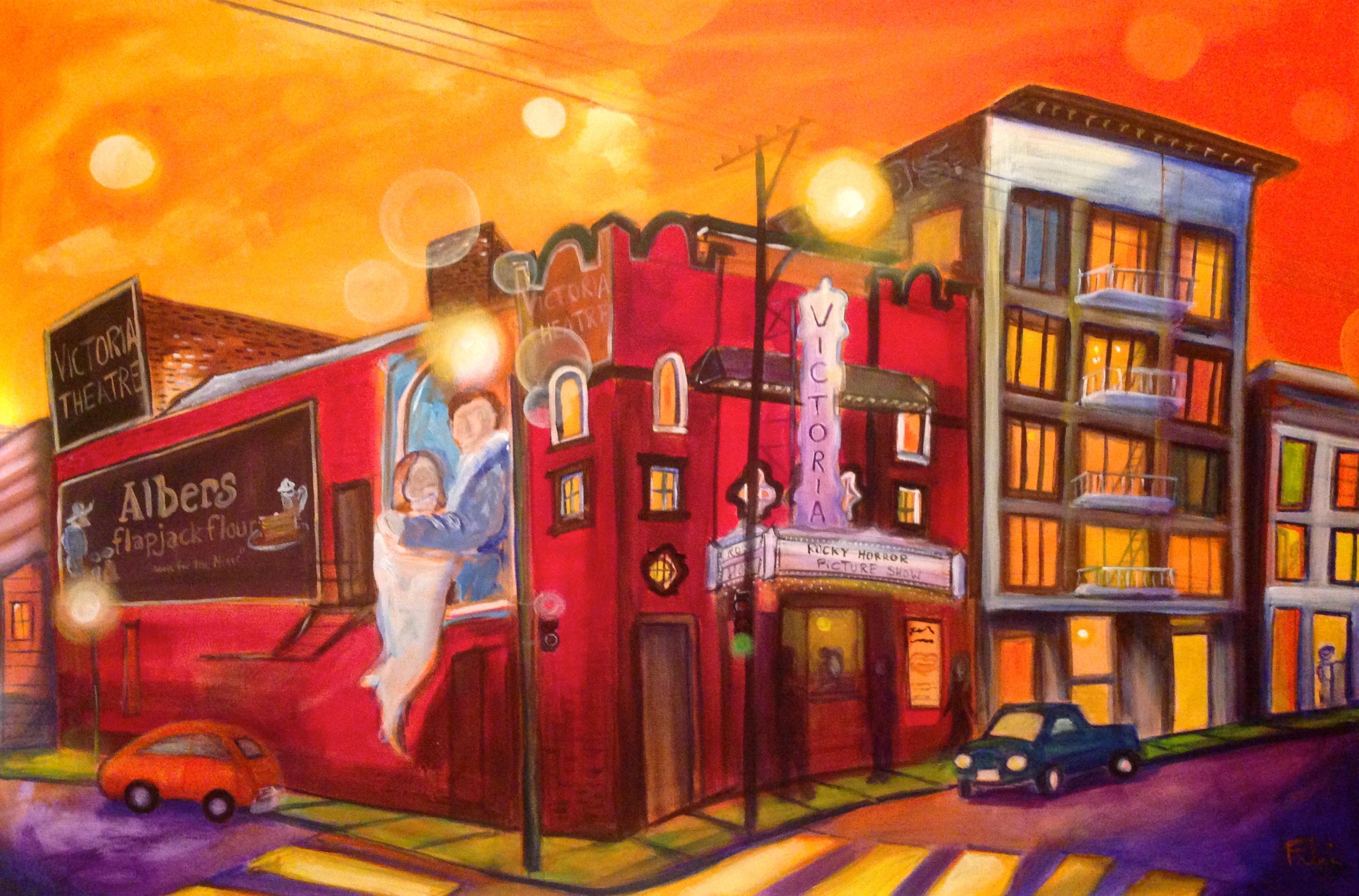 Victoria Theatre 24x36 $1,100