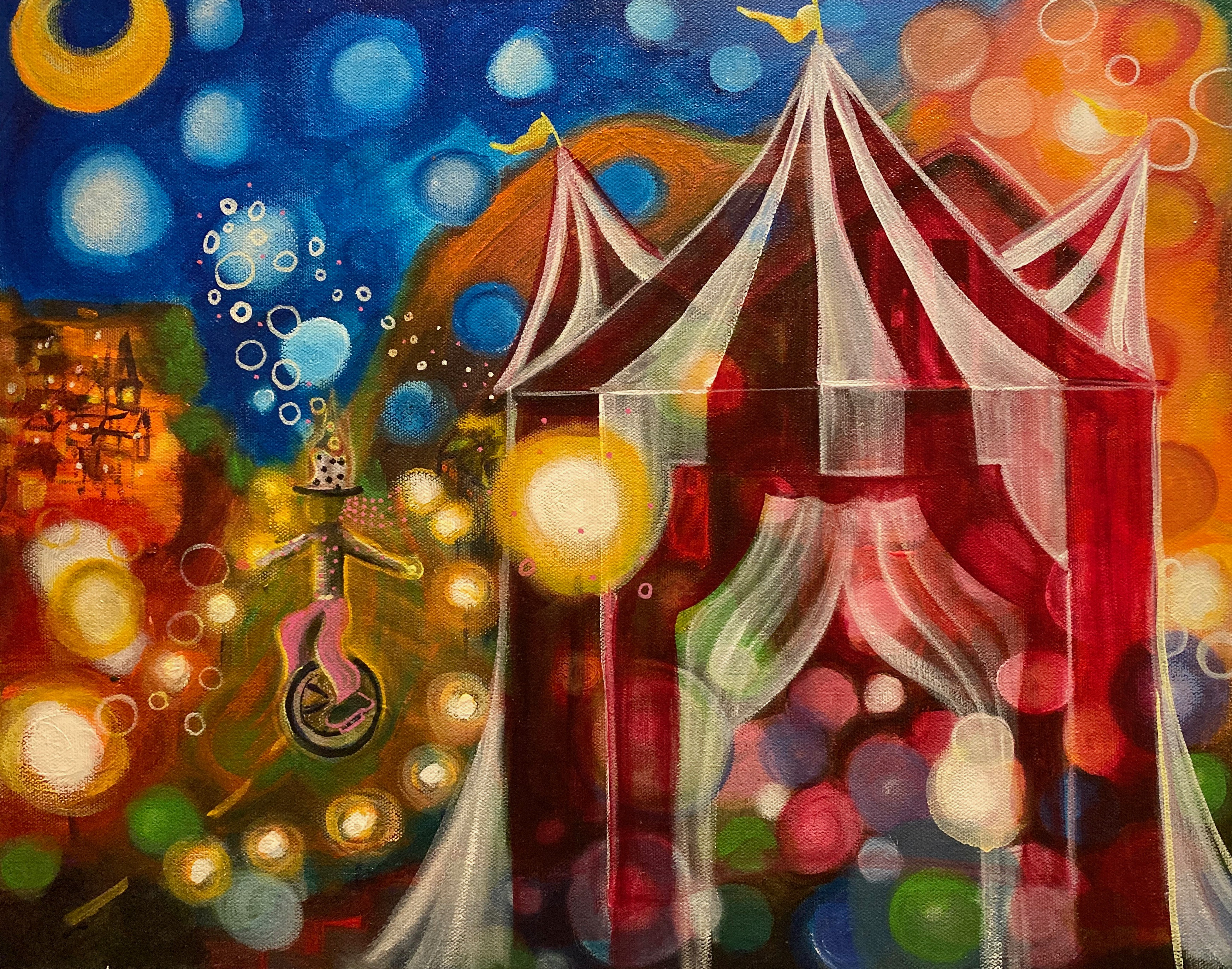 Carnival of Lights 16x20 $500
