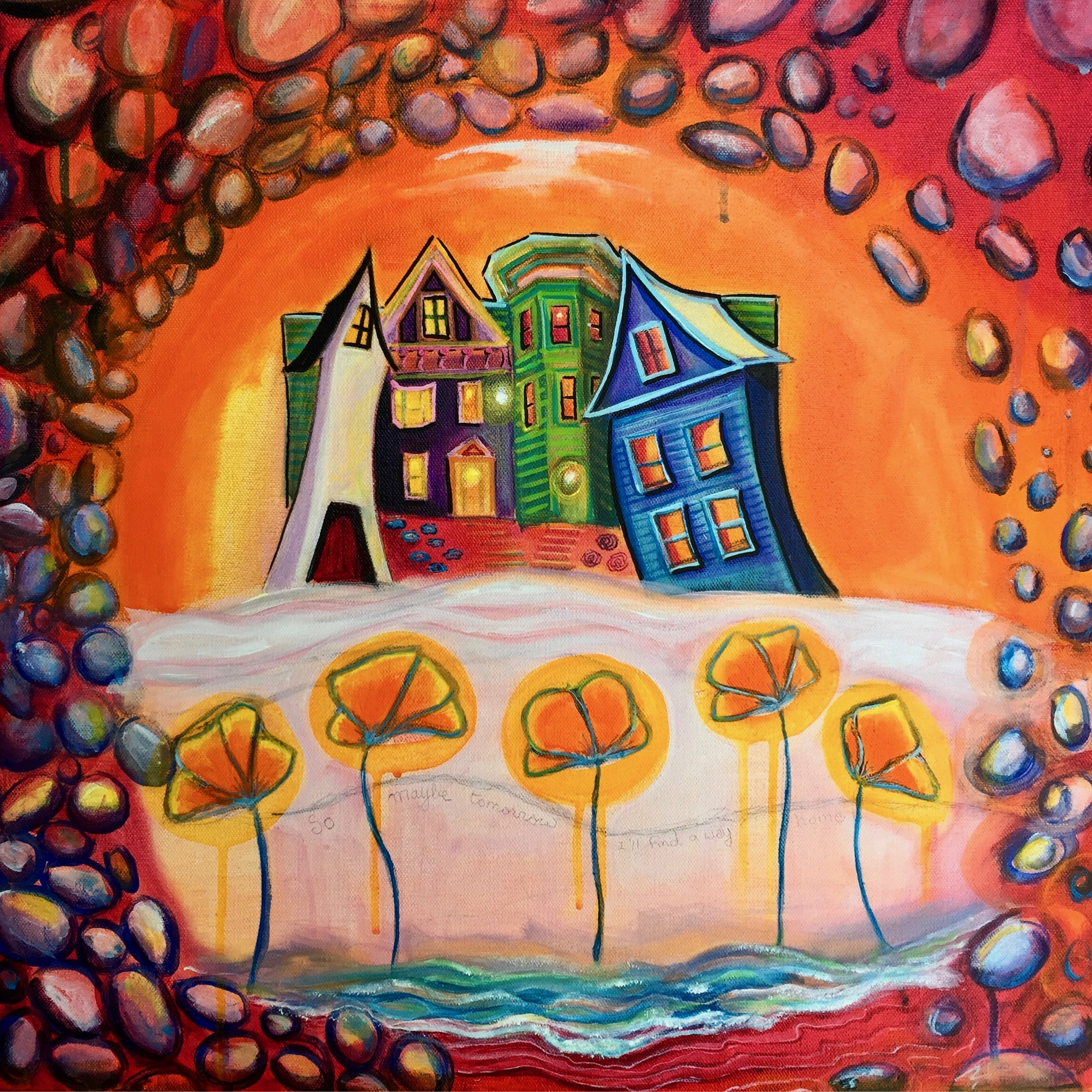 Finding my Way Home 20x20 $600