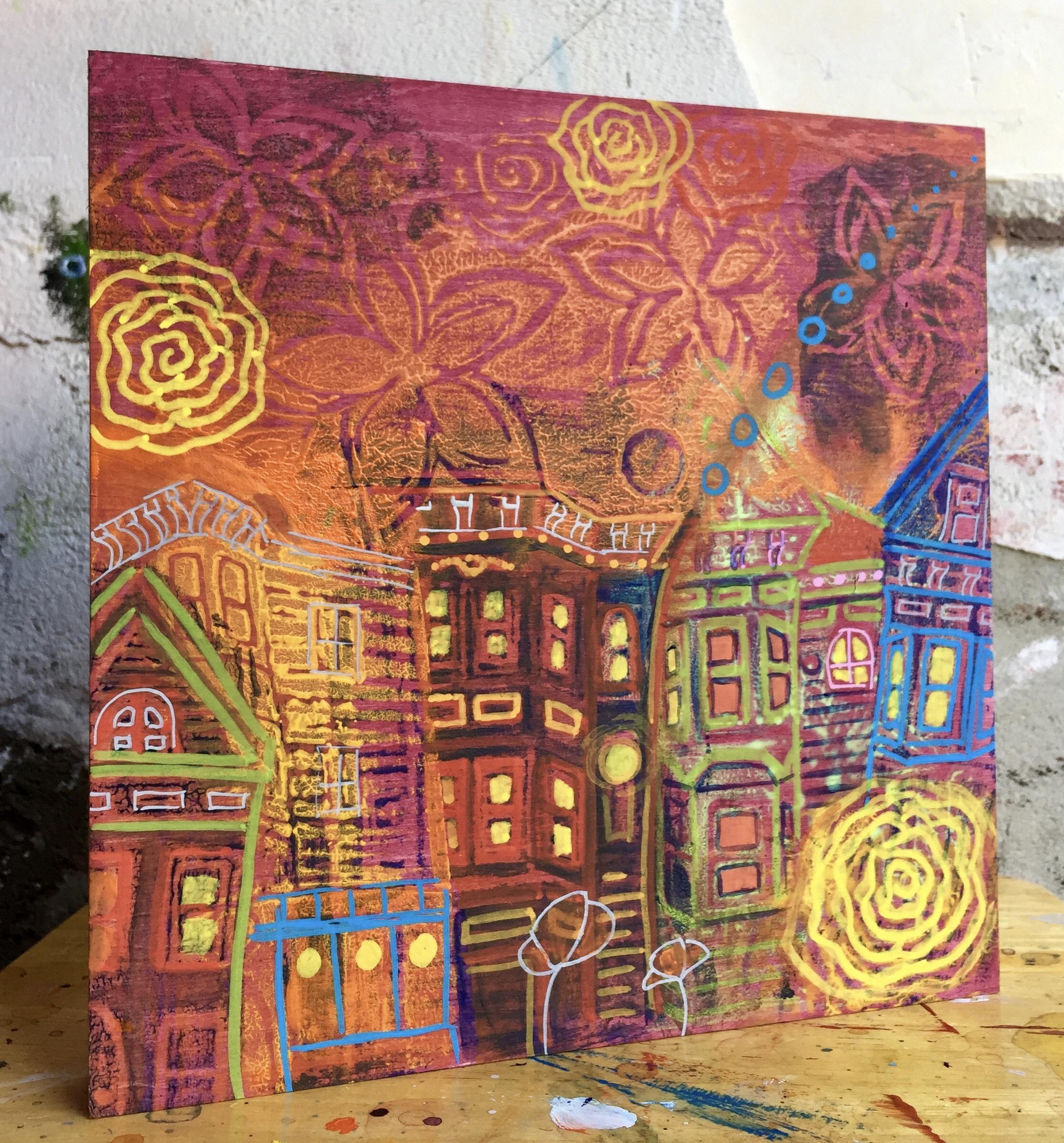 My City my Playground 8x8 $145